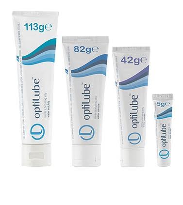 optiLube™ Tube steriles Gleitgel